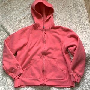 Cozy pink hoodie